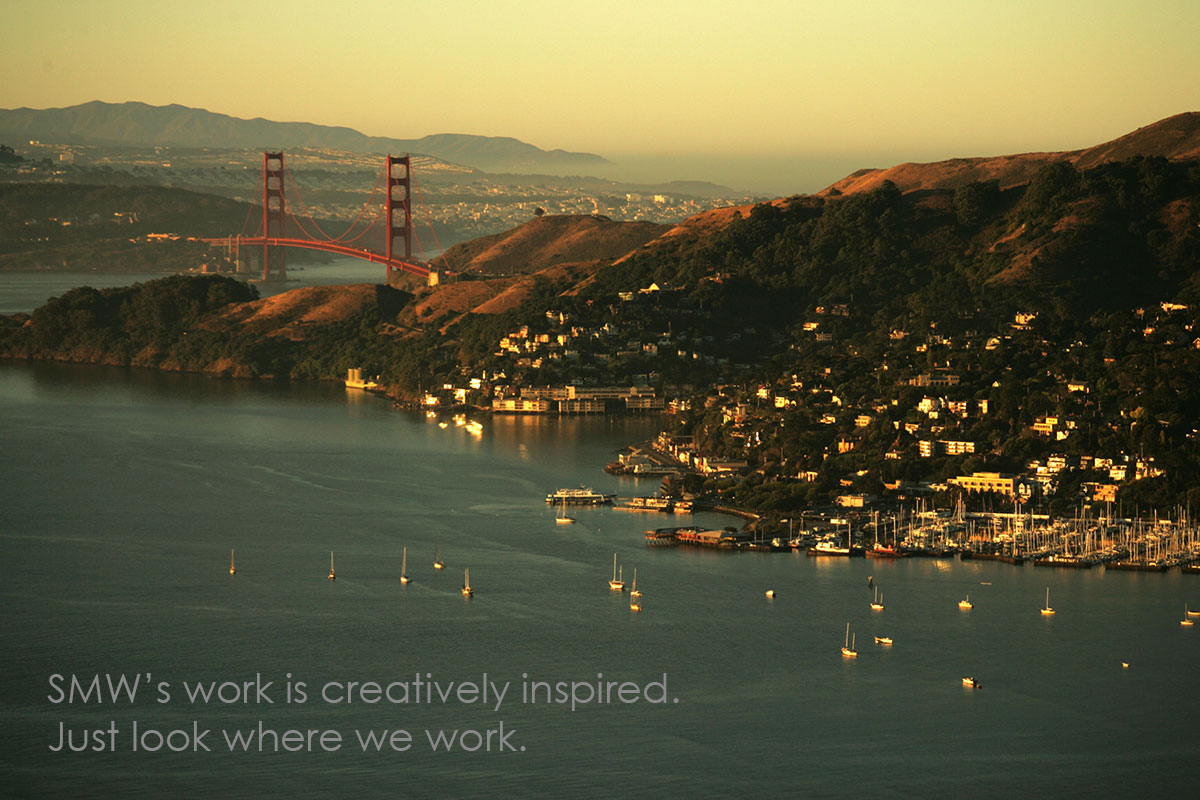 SMW's work is creatively inspired. Just look where we work.